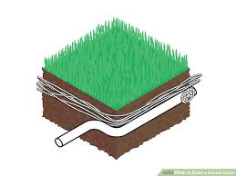 image titled build a french drain step 1