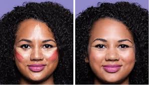 how to contour round face shape