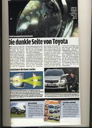 Toyota Wijst Claims Koplampen Avensis Af Auto