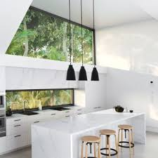 White modern kitchen ideas Contemporary Kitchen Modern Open Concept Kitchen Ideas Minimalist Galley Concrete Floor And Gray Floor Open Concept Kitchen Houzz 75 Most Popular Modern White Kitchen Design Ideas For 2019 Stylish