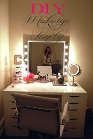 full size of bedroom makeup vanity with lights best 17 diy vanity mirror ideas light up