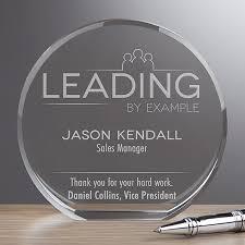 Personalized Premium Crystal Award Inspirational Employee