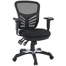 edge office chair with mesh back and black leatherette seat. lexmod edge office chair with mesh back and black leatherette seat. articulate seat i