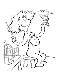 36 Coloring Pages Cat In The Hat, Cat In The Hat Coloring Page ...