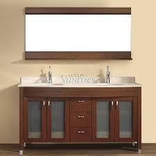 Vanity : Bathroom Vanities Double Sink 60 Inches Vanitys