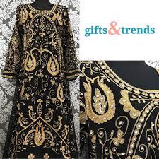 Dubai Jubah Design Womens Kaftan Jubah Dress Dubai Full Design Black Womens