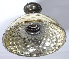 mercury glass ceiling light 1920 s mercury glass wall or ceiling light made once only
