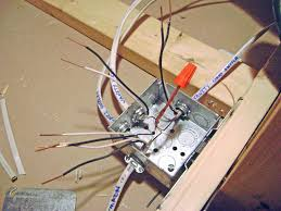 how to finish a basement bathroom ceiling junction box wiring basement bathroom junction box wiring ground wires nutted together