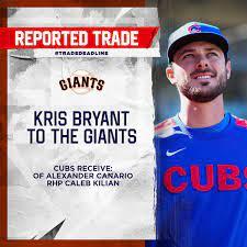 Kris Bryant trade. #TradeDeadline ...