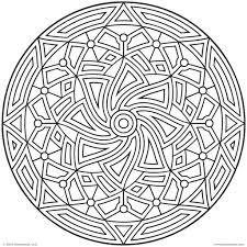 Printable Coloring Pages geometric shape coloring pages : Geometric Coloring Pages For Adults - Coloring Home