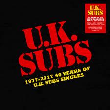 Uk Singles Chart 1977 1977 2017 40 Years Of Uk Subs Singles