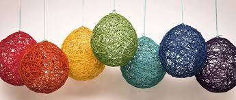 How To Make String Ball Decorations Delectable Another Donkey Design Party Decorations String Balls