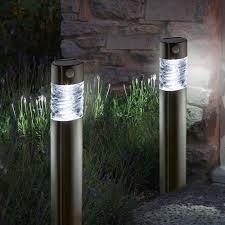 garden bollard lighting. Solar Garden Lights Pharos Bollard Lighting 2