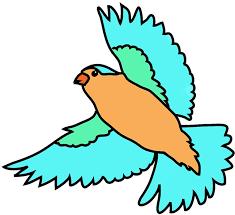colorful birds flying clipart. Contemporary Flying Colorful Birds Flying Clipart  Free Large Images  Clipart  Clip Art  Library In Colorful Birds Flying TechFlourish
