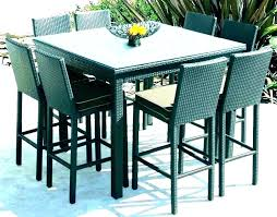 tall patio table and chairs high top bistro table outdoor high top patio table set and
