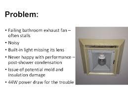 bathroom exhaust fans reduce energy use