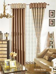 Unique Living Room Curtains 2017 2016 Fashion Unique Design Two Sides Plain Lattice Printed
