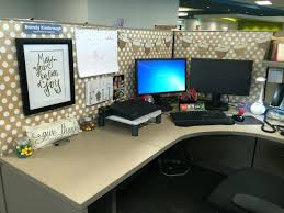 Outstanding Work Cubicle Decor More Office Style Themes For Decorating  Office Cubicles