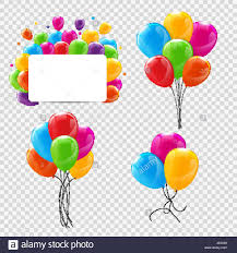 Color Groups For Design Set Bunches And Groups Of Color Glossy Helium Balloons