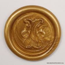 custom made monogram peel and stick faux wax seals choose letter and color for a 100 pieces 0fb13c23