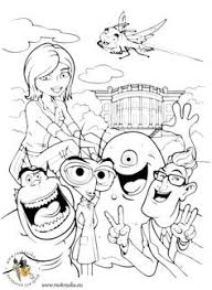 14 Best Coloring Pages Flushed Away Images Color Coloring Books