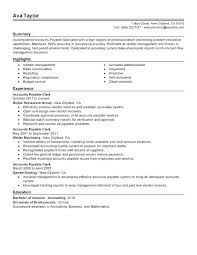 Resume Objective Statement Resume Objectives For Career Changers Accounts Payable Specialist 81