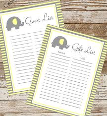 Sample Guest Book Template. Fox Guestbook Free Printable Best Baby ...