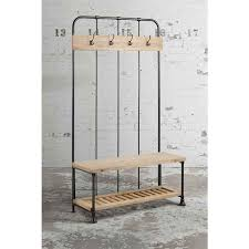 Coat Rack Melbourne Bosse Coat Rack Reclaimed Wood Industrial Style MyFurnitureau 2