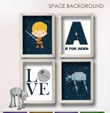 >star wars nursery art baby boy nursery print nursery art nursery  star wars wall art personalized letter name boy room decor 4 print set baby shower gift nursery play room birthday gift only with o is for owen