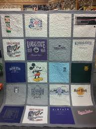 T Shirt Quilt Pattern With Different Size Blocks Extraordinary What You Need To Know About Creating A Tshirt Quilt Already Loved