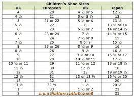 Nike Junior Shoes Size Chart Nike Kids Shoes Size Chart Kulturevulture Co Uk