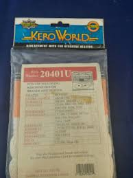 Kero World 20401u Kerosene Heater Replacement Wick Nos Free Shipping Ebay
