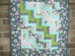 Quilting Designs For A Rail Fence Quilt Rail Fence Baby Quilt Pattern Free Quilt Pattern