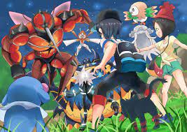 Vs Alola Beasts | Awesome anime, Pokemon art, Pokemon