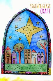 free stained glass coloring sheet craft print out design color it in turn