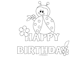 Free Birthday Coloring Pages Mini Mouse Coloring Page Free Mouse