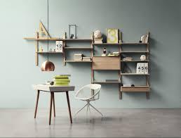 wall mounted storage shelf display