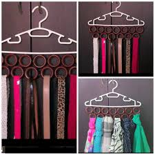 15 Excellent Ideas For DIY Scarf Hanger Subuha