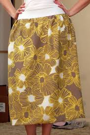 Simple Skirt Pattern With Elastic Waist Interesting Decorating