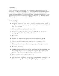 Cover Letter Greeting Resume Samples