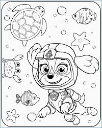 Skye Coloring Pages Beautiful Free Printable Paw Patrol Coloring
