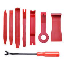 8pcs auto car diy car pry repair tool kit radio panel interior door clip panel pry tool trim dashboard removal opening tool set