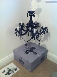 black chandelier homebase