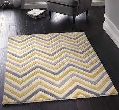 yellow grey and white rug cabone yellow grey wool rugs 60 x 120cm yellow gray chevron
