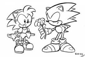 Small Picture Sonic coloring pages online