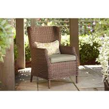 brown jordan northshore patio furniture. vineyard patio cafe chair in meadow with aphrodite spring lumbar pillow 2pack brown jordan northshore furniture