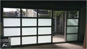 all glass garage door all glass garage door in simple interior designing home ideas with all