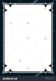 simple frame border. Frame Border Line Page Vector Simple Stock 626604983 - Shutterstock O