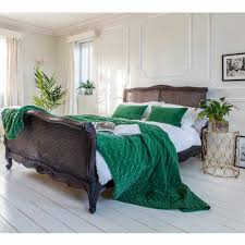 emerald green bedroom. Plain Green Plushious Velvet Cushion In Emerald Green  French Bedroom  And E