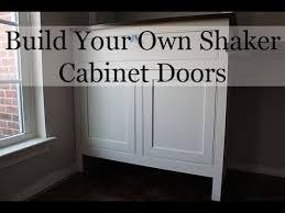 gray shaker cabinet doors. DIY Shaker Cabinet Doors Gray